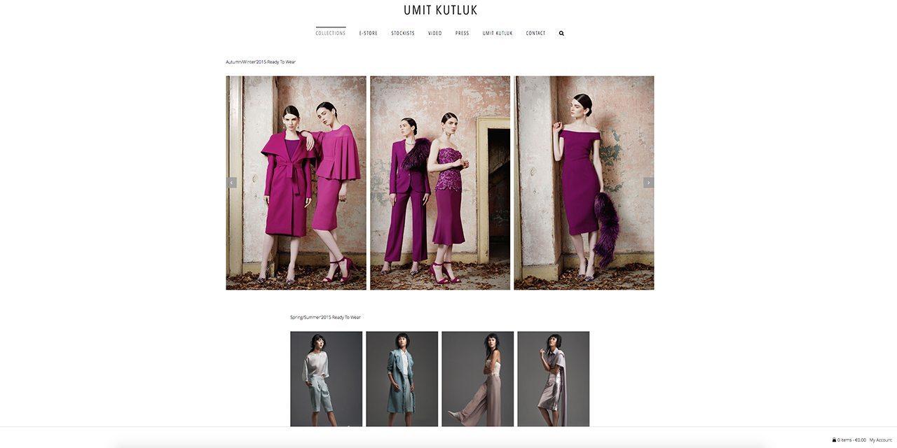 Umit Kutluk Fashion Designer