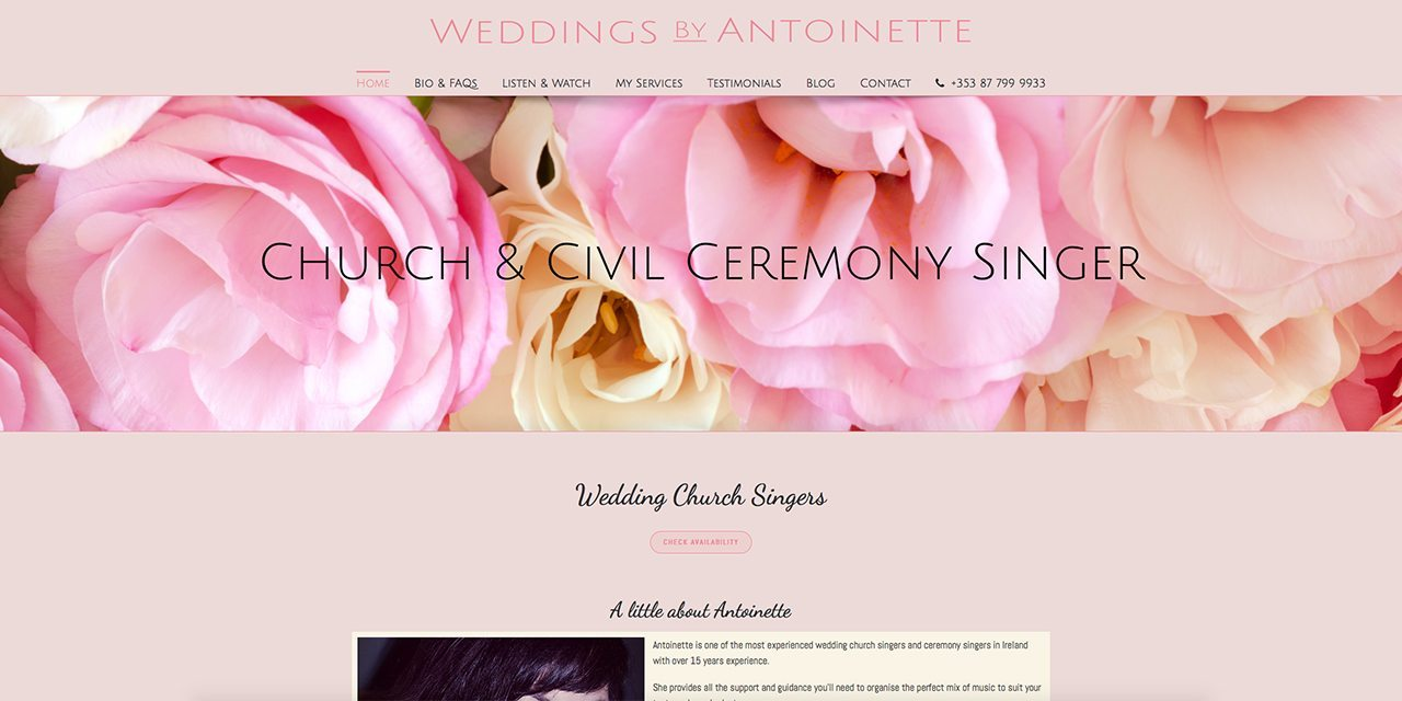 Weddings By Antoinette