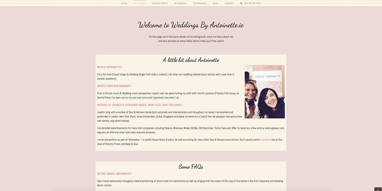Weddings By Antoinette