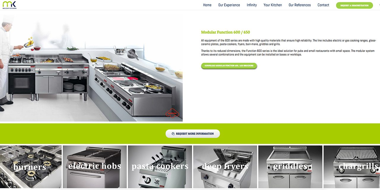 Mulcahy Kitchens - Catering Equipment Suppliers