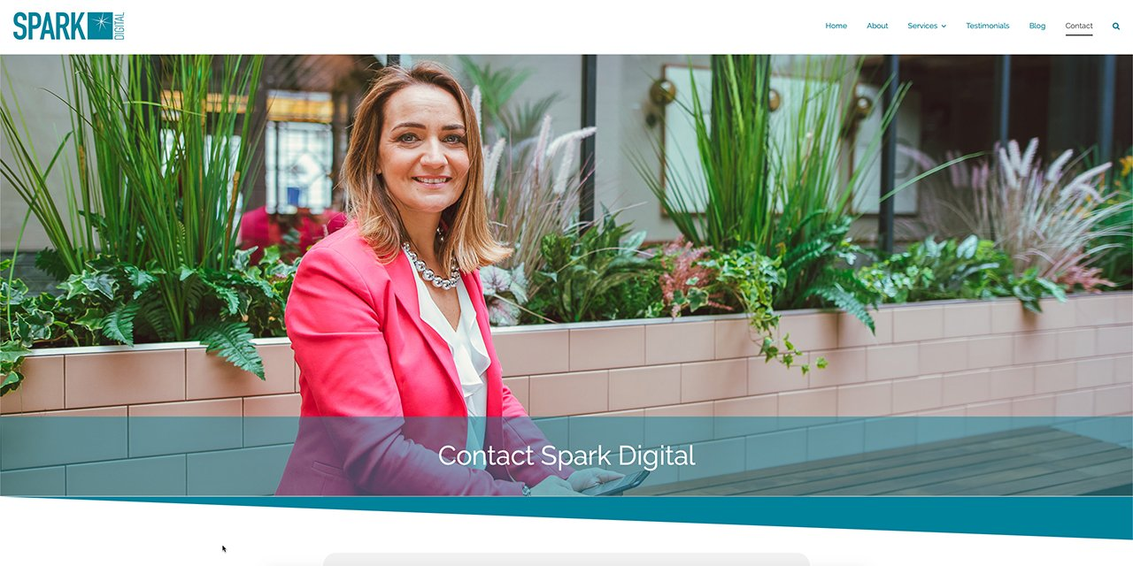 Spark Digital - Web Design By True Design