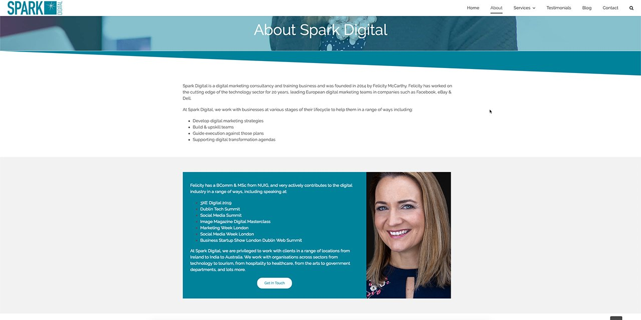 Spark Digital - Web Design By True Design